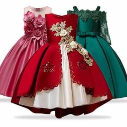 Kids Dresses For Girls Princess Dress Christmas Children Par