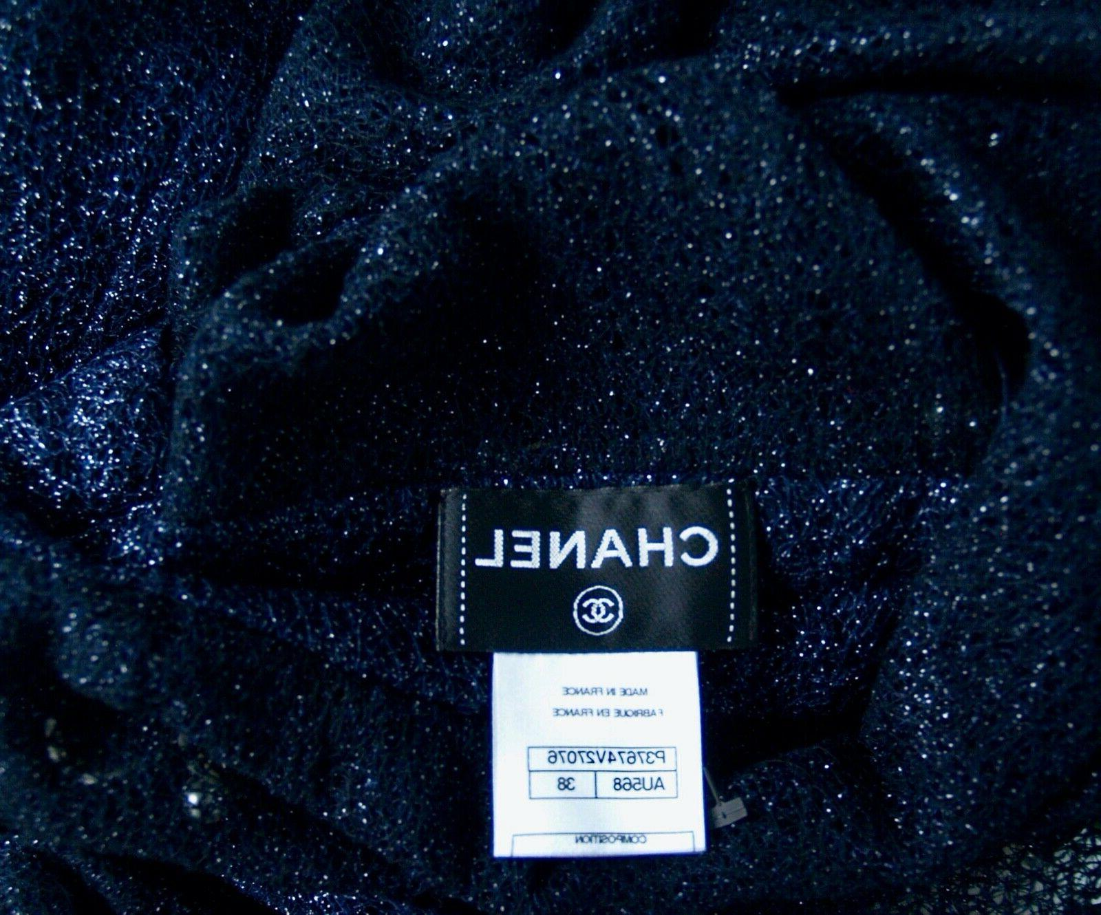 CHANEL 10P Gown Sleeveless Long 38