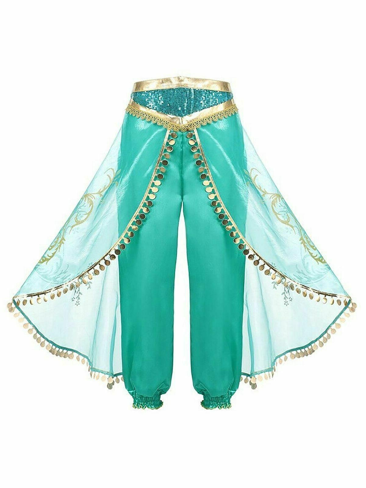 Aladdin Jasmine Baby Fancy Dress Party Costume Sets