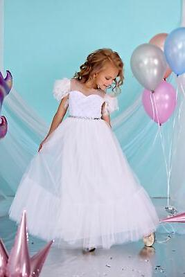 angelina dress for girls baby toddlers white