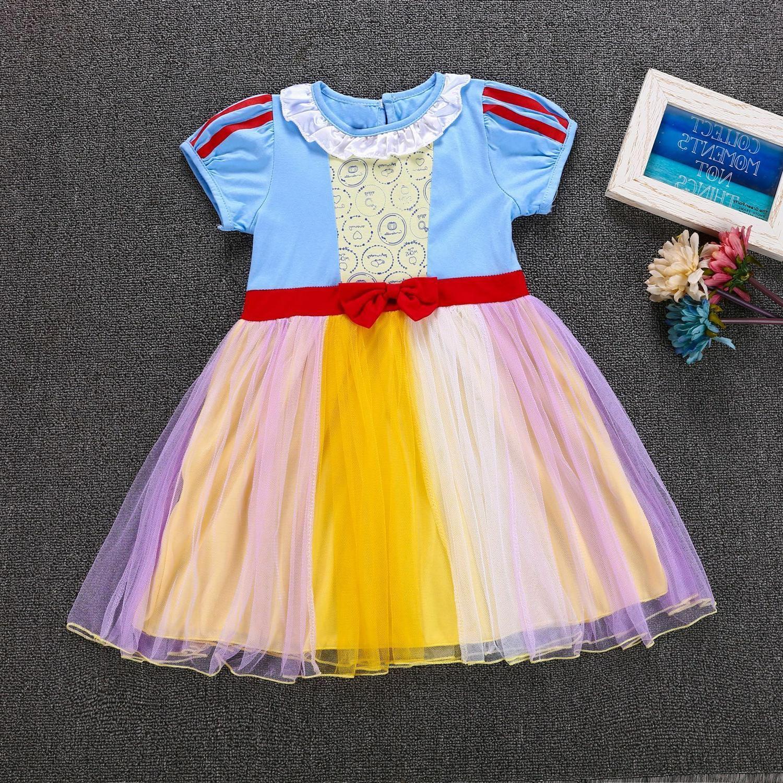 baby girls princess snow white dress costumes