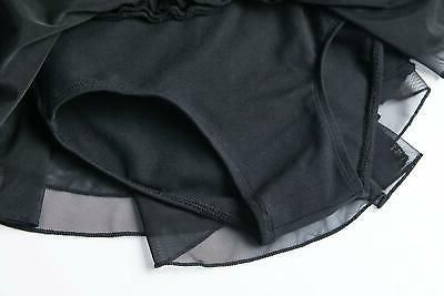 MdnMd Little Flutter Sleeve, Black, Size EwLt