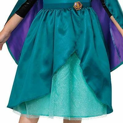 Disney Frozen 2 Anna Costume Dress and Cape Toddler S