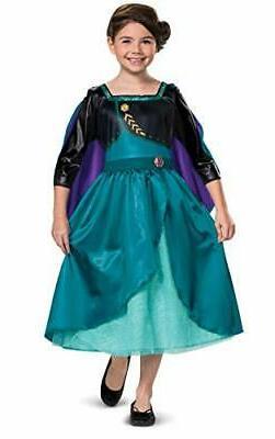 disney frozen 2 anna costume for girls