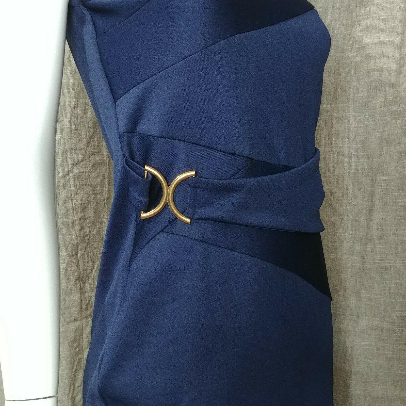 Bodycon Navy Blue Color