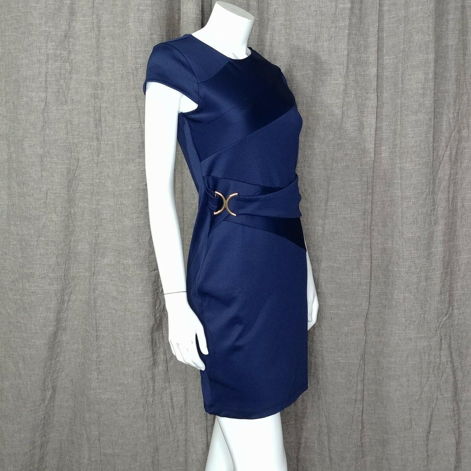 dress trim detail bodycon dress size medium