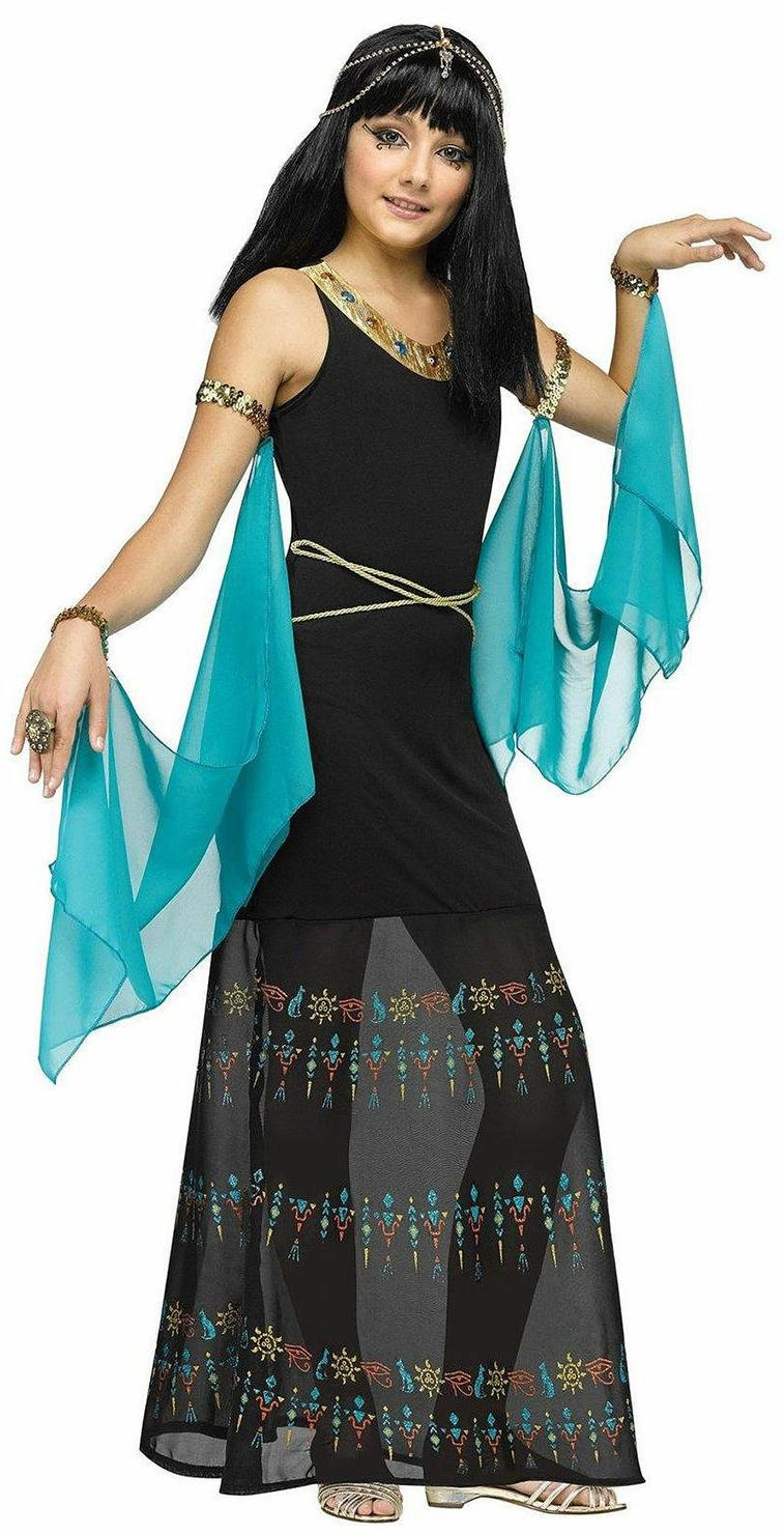 egyptian queen costume for girls size 8