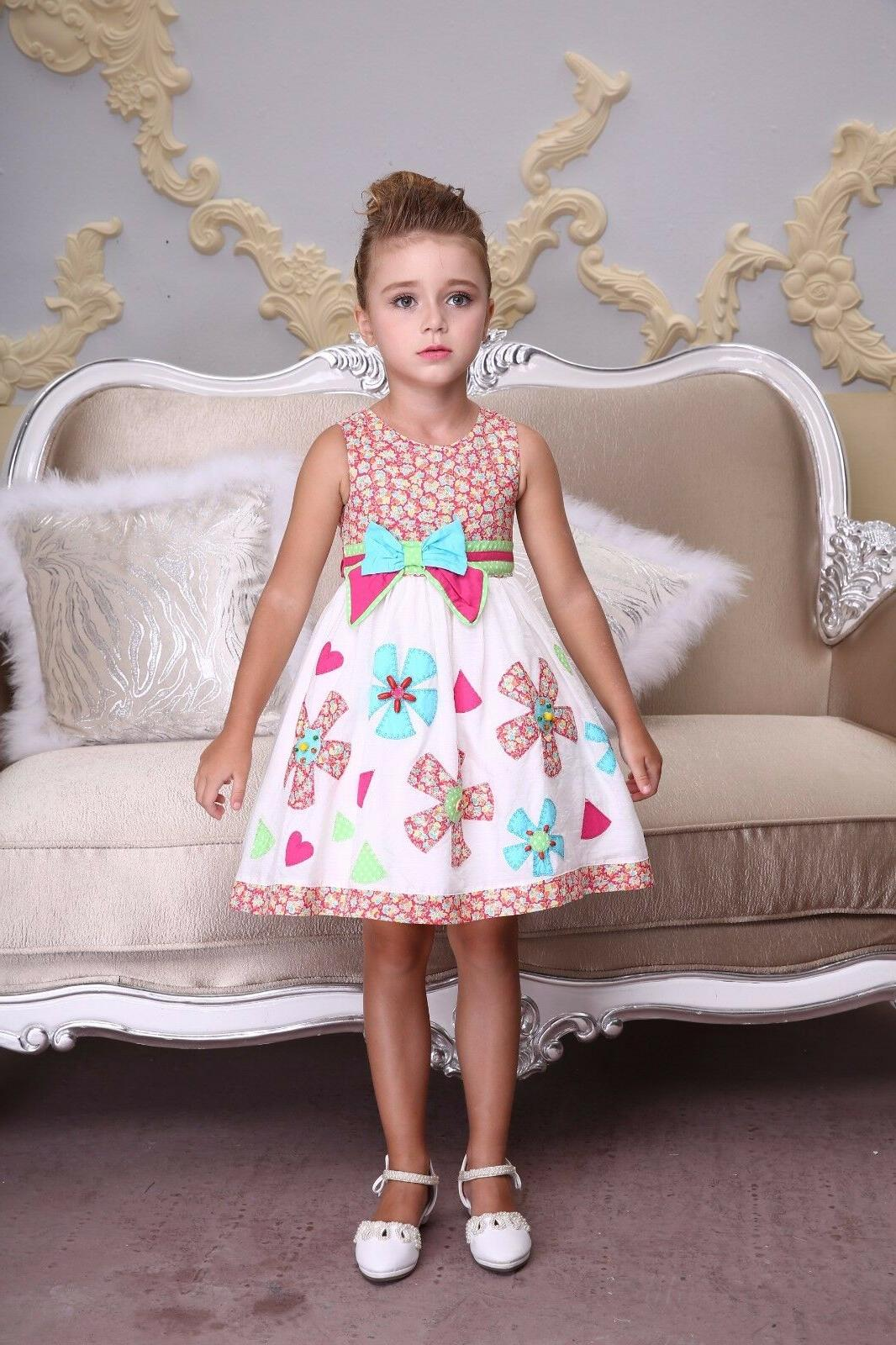 Bonny Embroidered Party Girls 3 - Years