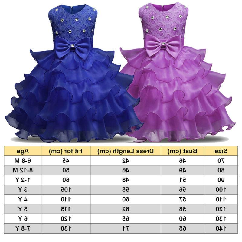 Bow Dress Bridesmaid Pageant Party Dresses