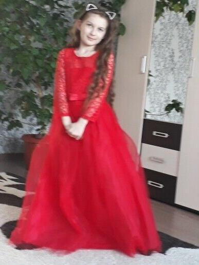 Flower Girls Kids Long Tutu Dresses 14T