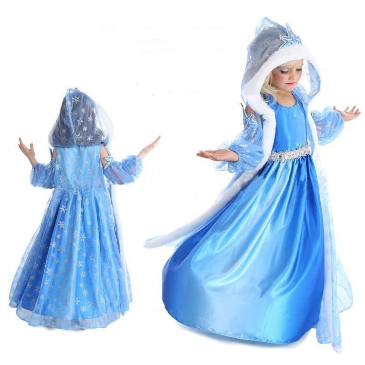 2020 Let It Go Costume Cosplay Dress
