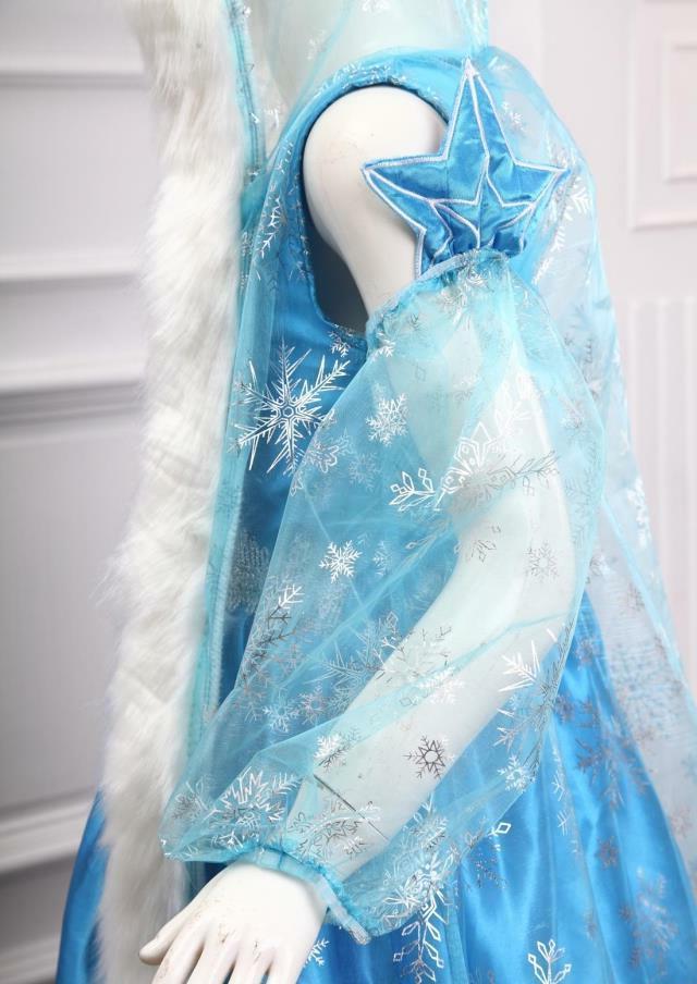 2020 Princess ELSA Let It Cosplay Dress up