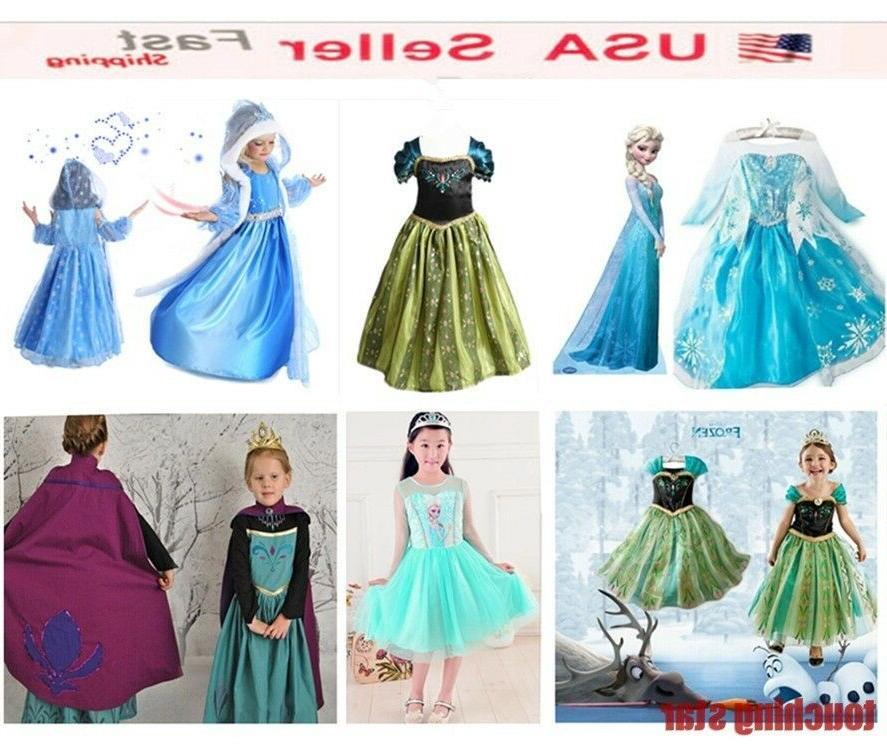2020 ELSA It Cosplay Dress