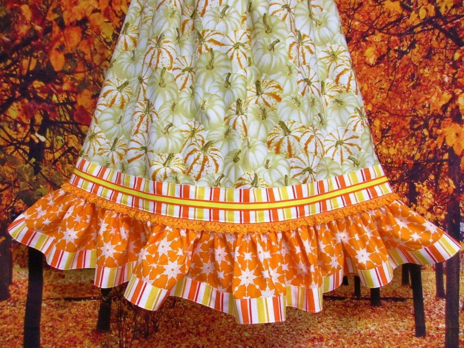 Girl Dress Sparkle Orange, Pillow Case Dress