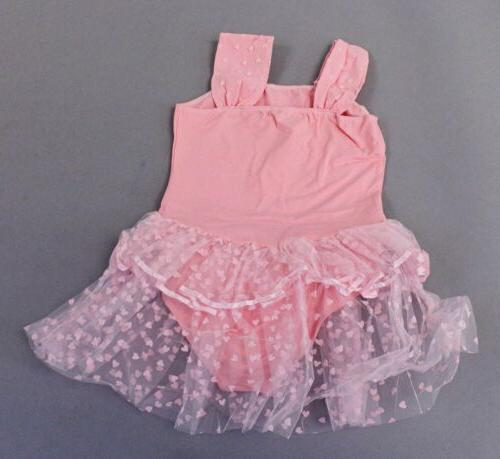 Arshiner Heart Leotard Dress 15