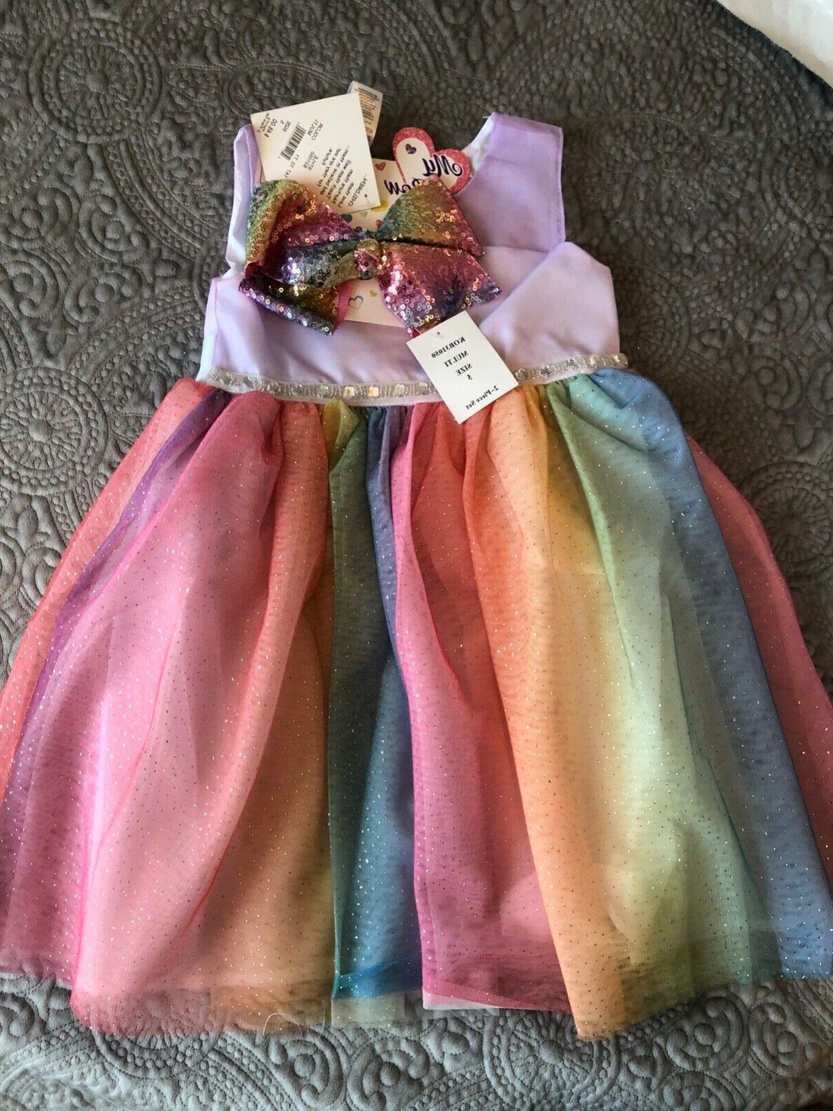 girls multi color dress size 5t