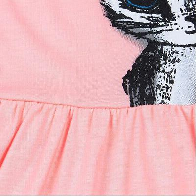 Toddler Girls Summer Print Casual Clothes