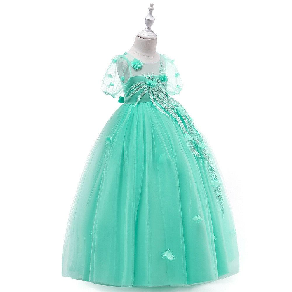 Dress for Girls Party Wedding Bridesmaid Gown ZG8
