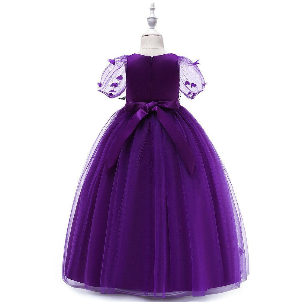 Kids Princess Dress for Wedding Gown