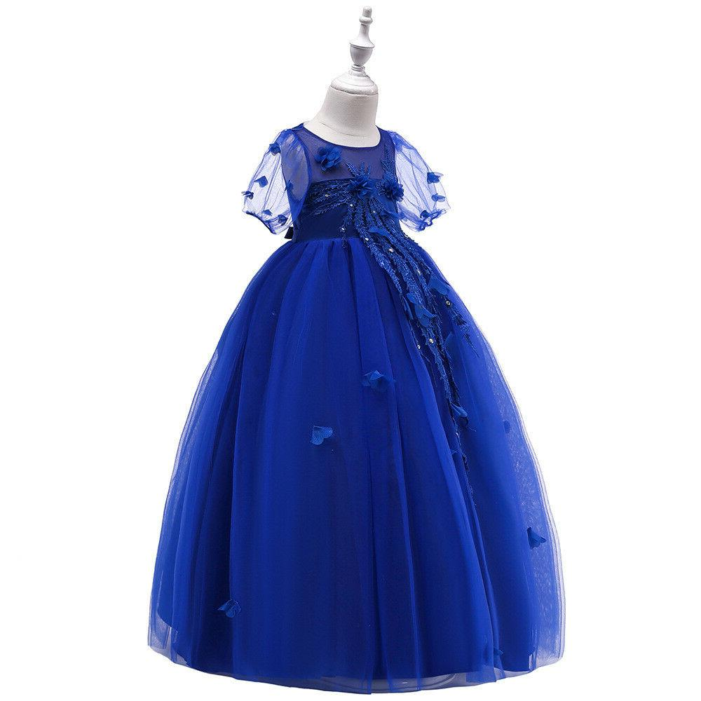 Kids Girl Dress for Party Wedding Gown ZG8