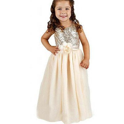 Kids Dress Girls Bridesmaid
