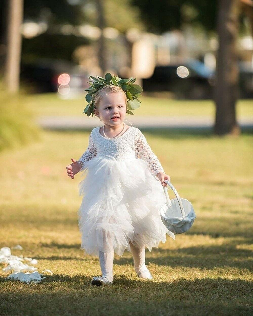 Lace Flower Kids Princess