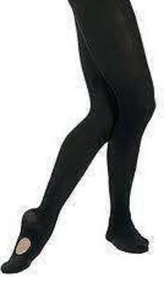 NEW Capezio Convertible Transition Back Seam Tights Child Sm