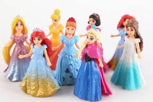 NEW 8pcs/Set Doll Dress toy babies