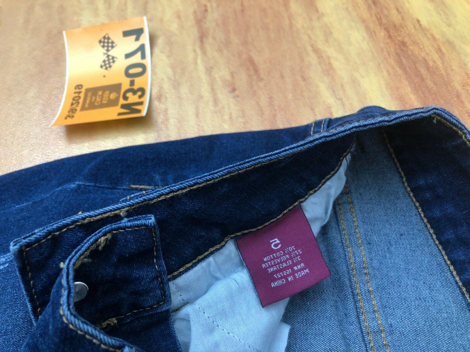 New April Girl Slim/Skinny Premium Cotton Dark
