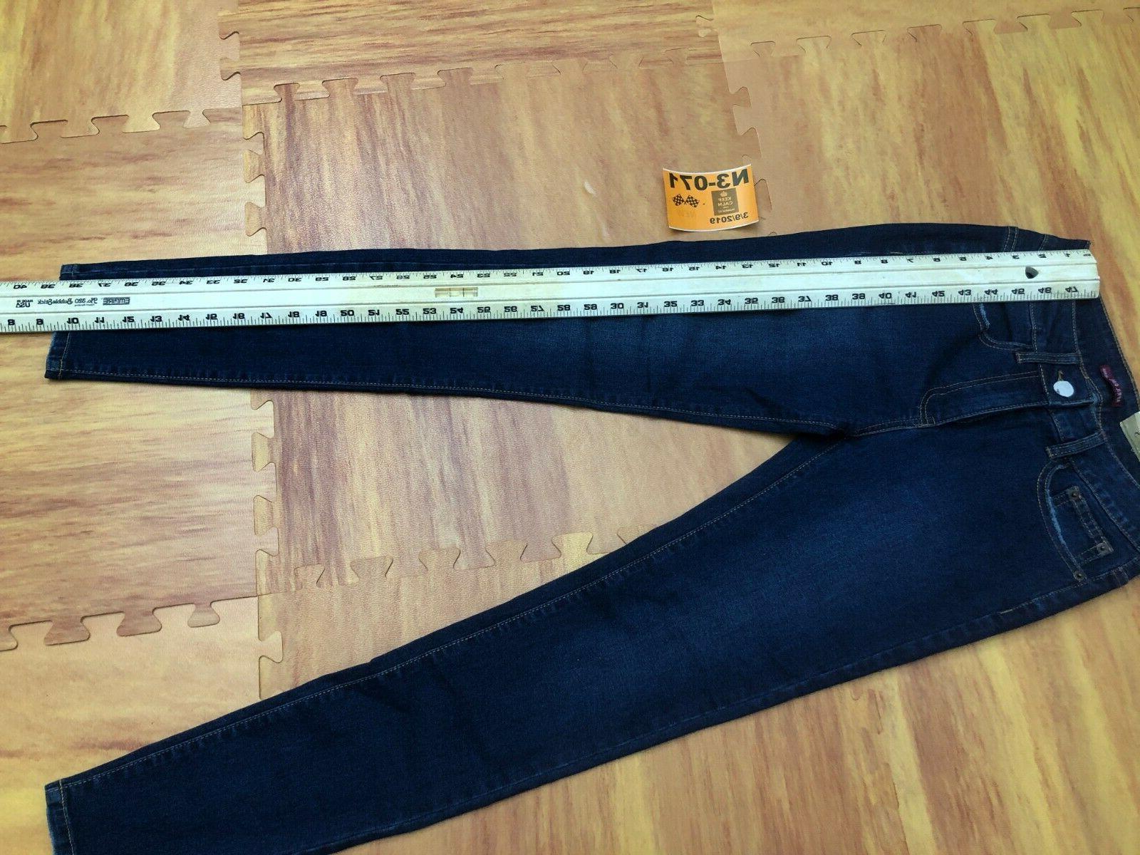 New Girl Premium Cotton Denim Dark Size