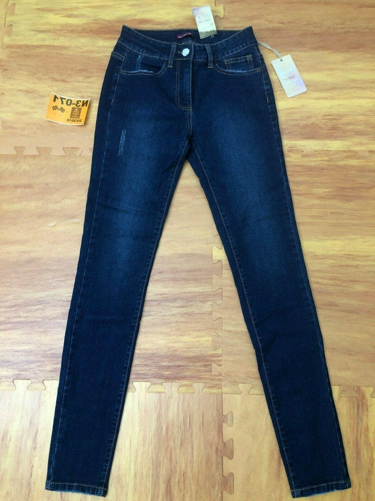 new slim skinny premium cotton denim jeans