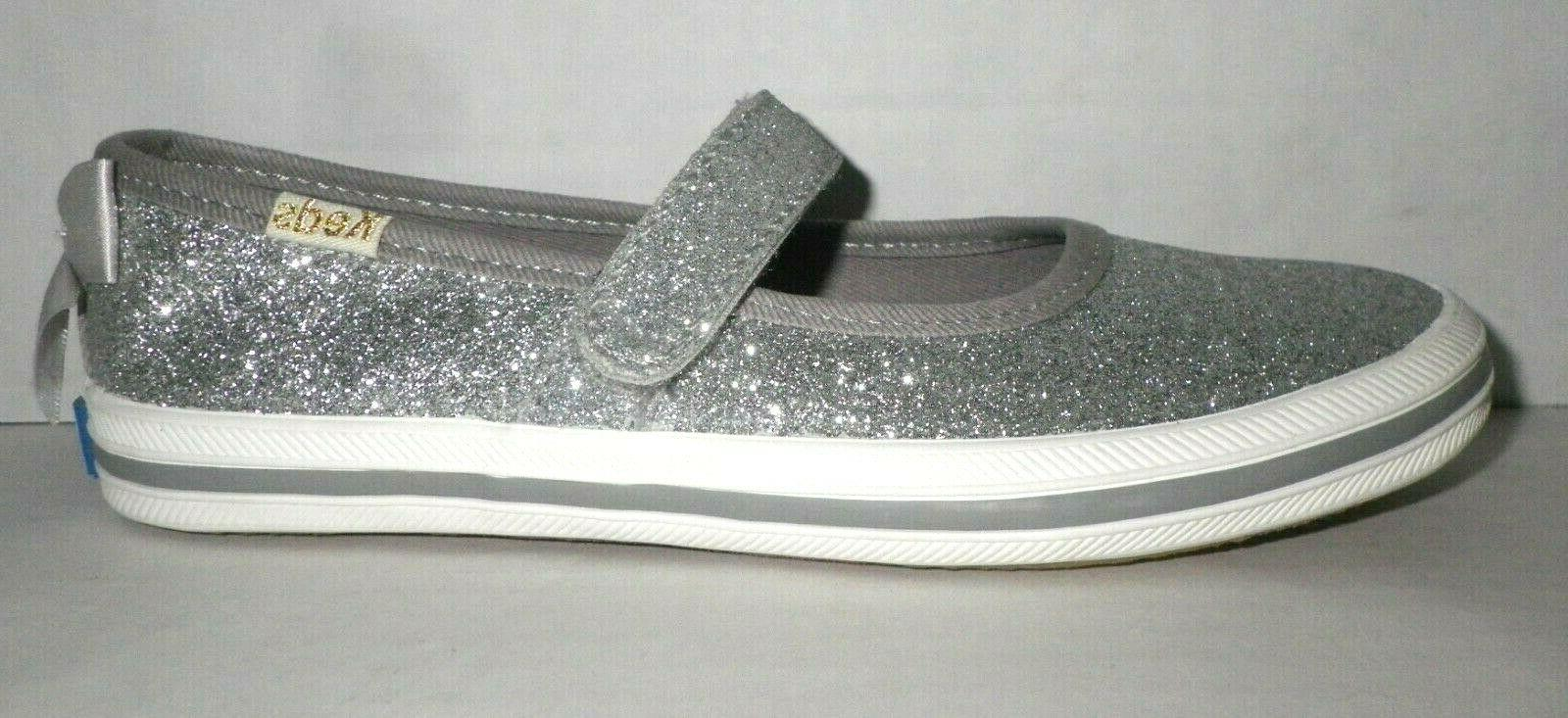 NEW Keds spade Girls Sloane Glitter Sneakers Kids 11.5