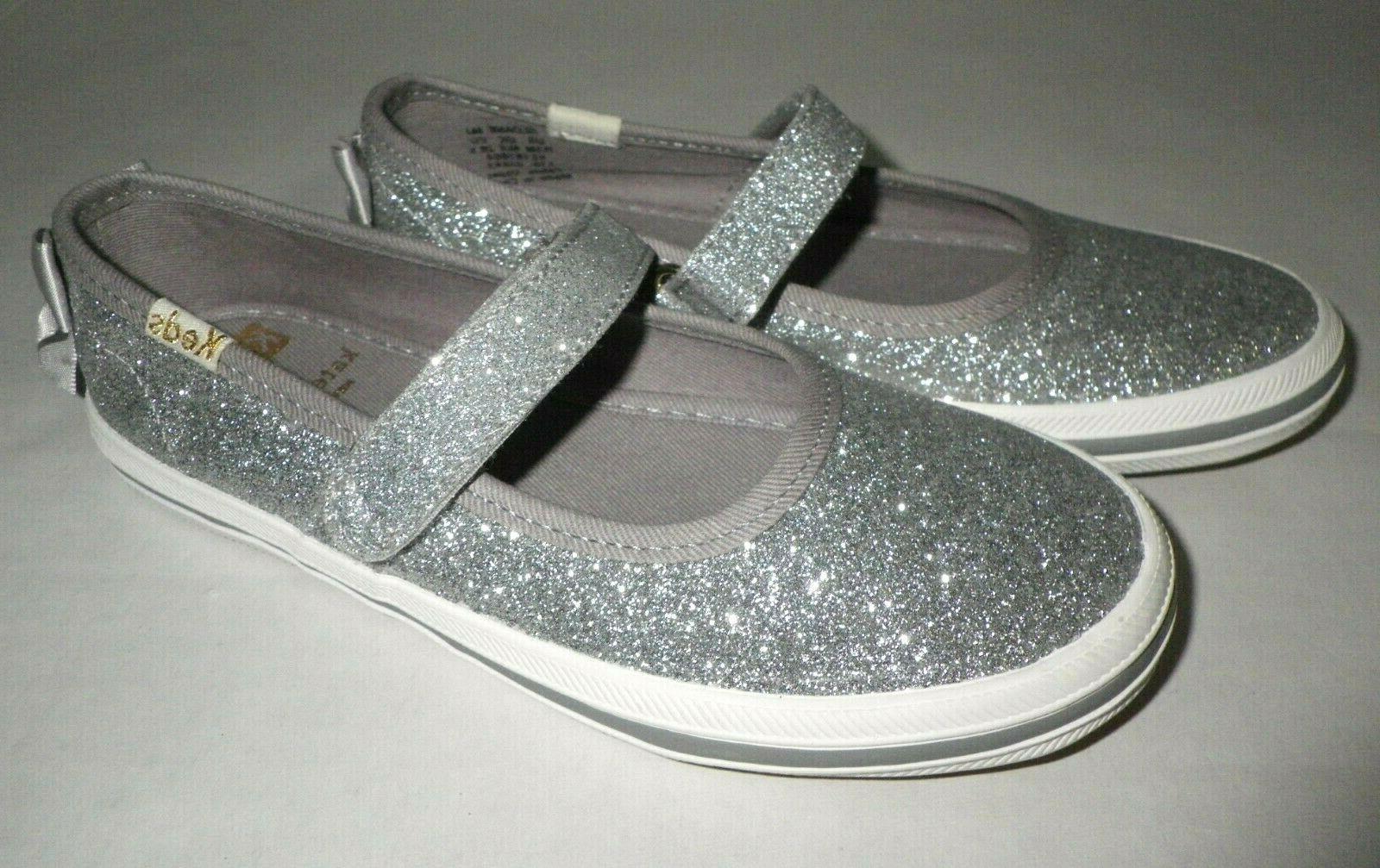 NEW Keds spade Glitter Kids M