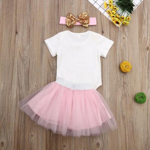Newborn Baby Girl Party Tutu Dress