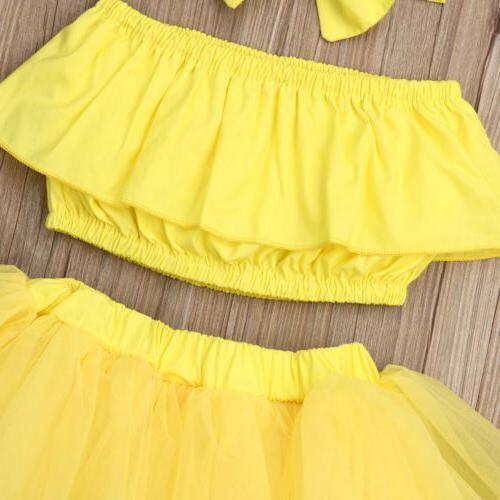 Newborn Kid Clothes Tutu Skirt Outfits