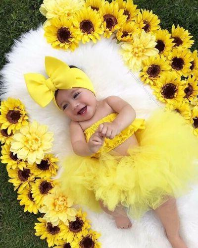 Newborn Kid Clothes Tutu Dress Outfits