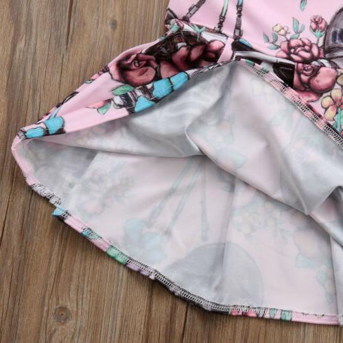 Newborn Girl Star Wars Pageant Tutu Dress Sundress US