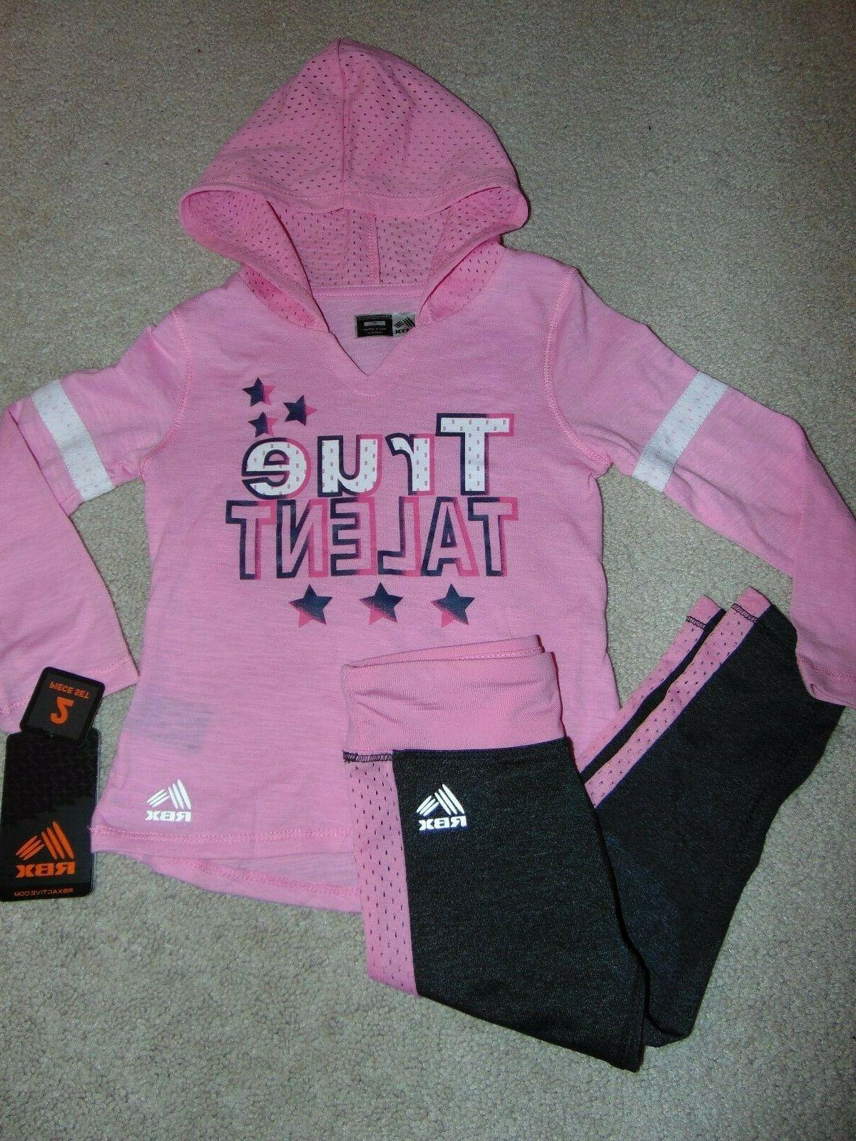 nwt girls hoodie outfit size 3t super