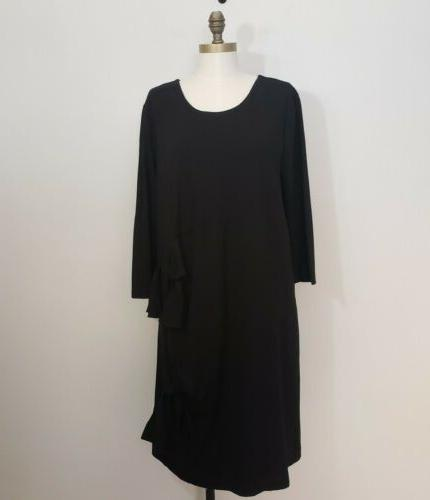 HALOGEN black dress