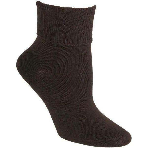 organic cotton turn cuff socks women s