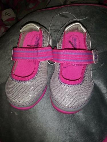 SURPRIZE STRIDE pink Mary Janes 5 toddler