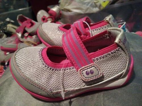 pink silver sparkle shoes mary janes size