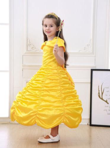 Princess Belle Dress Up for Girl