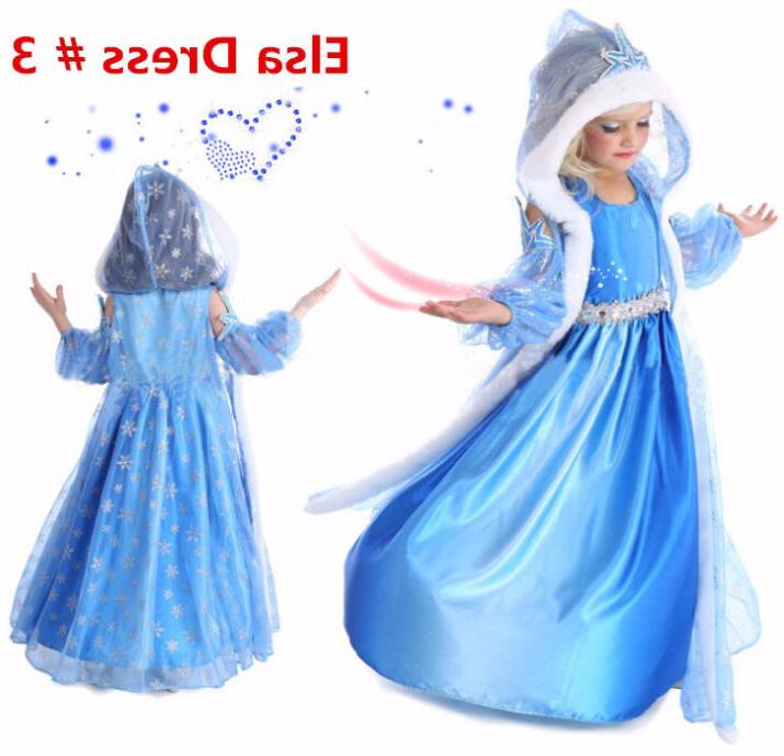 Princess Cosplay Dress Costume Dress 2-10 Y