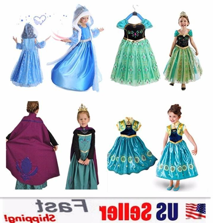 princess elsa anna role cosplay dress up