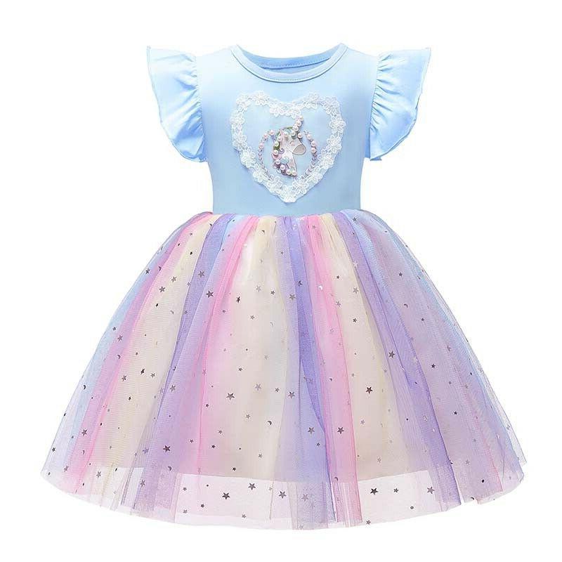 Princess Toddler Kids Baby Girls Tulle Tutu Dress Wedding