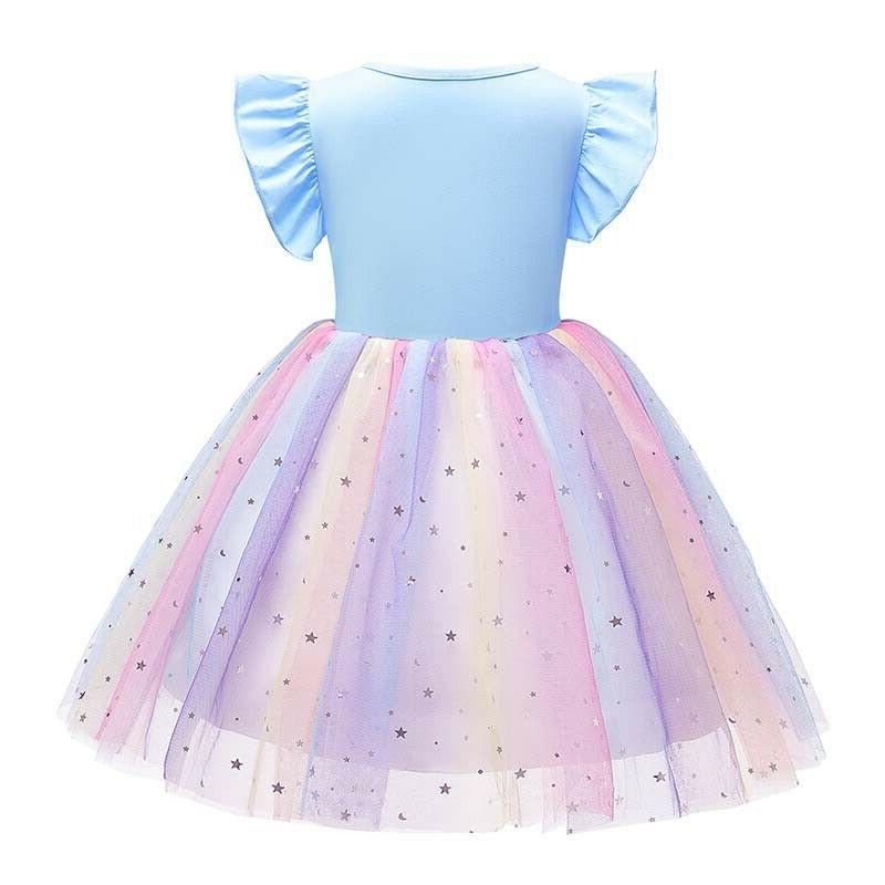 Princess Toddler Kids Girls Unicorn Tulle Tutu Dress Party
