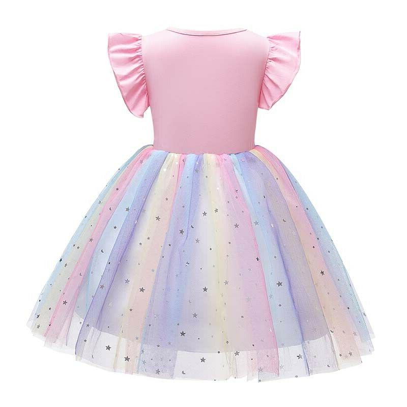 Princess Kids Girls Tutu Dress Party