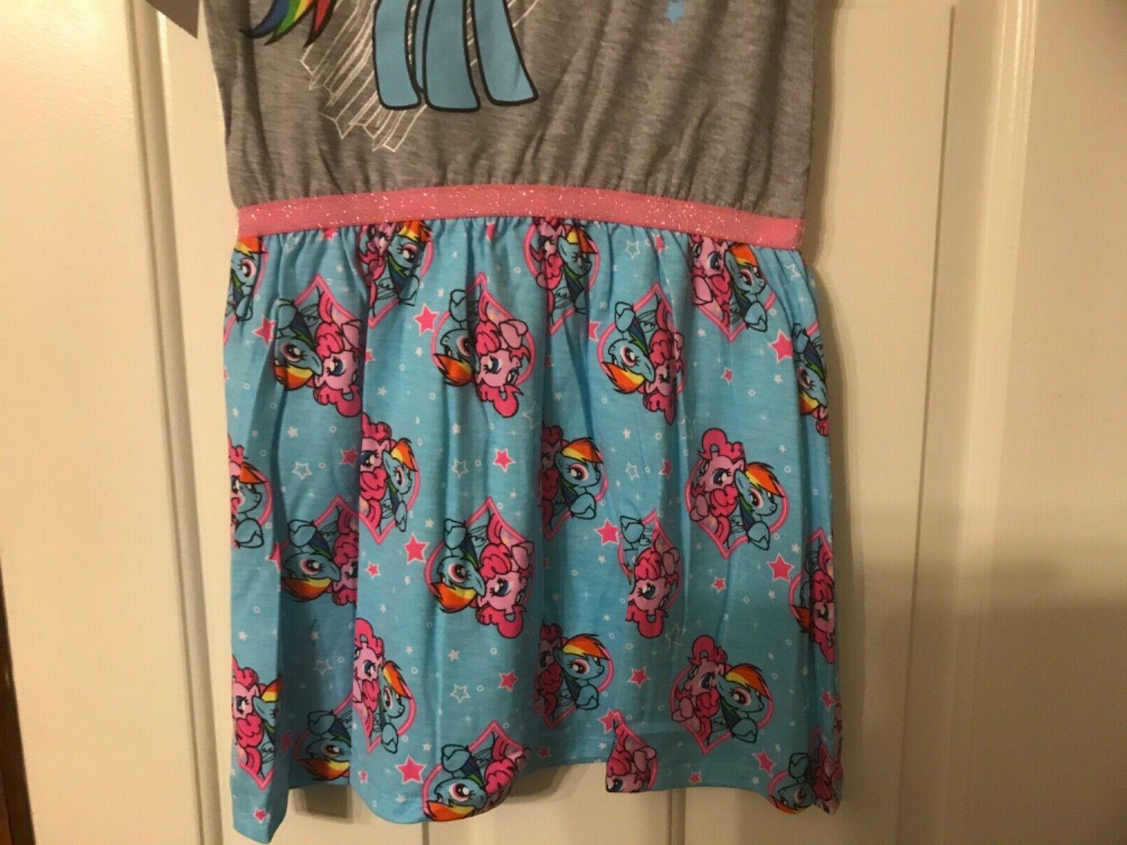 Rainbow My Little Pony dress size