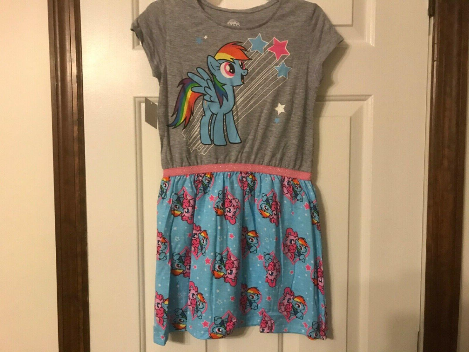 rainbow dash dress size 7 8